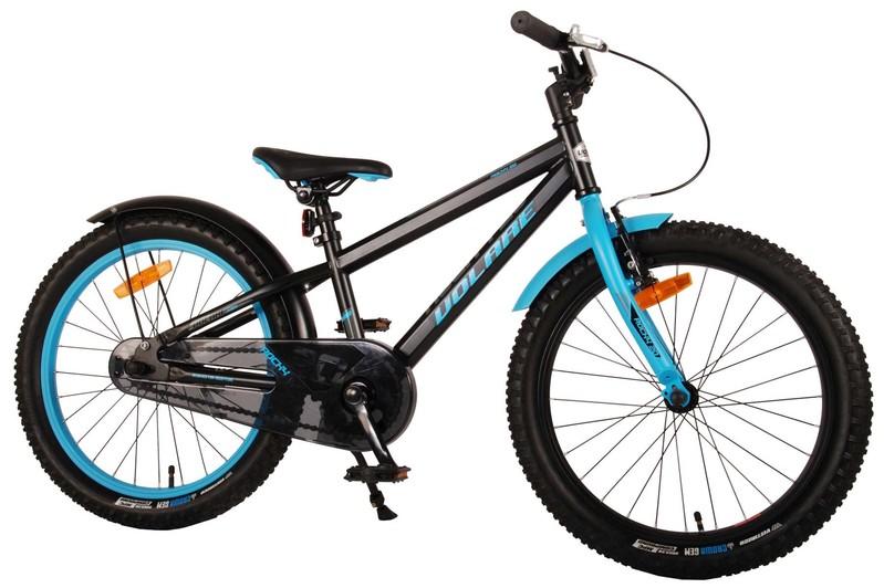 VOLARE - Detský bicykel pre chlapcov Rocky - čierný 20