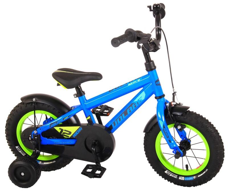 VOLARE - Detský bicykel pre chlapcov Rocky - modrý 12