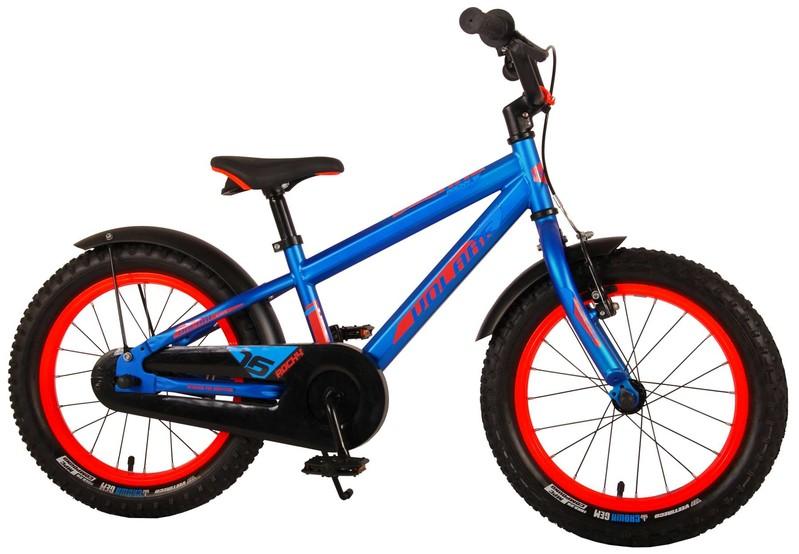 VOLARE - Detský bicykel pre chlapcov Rocky - modrý 16