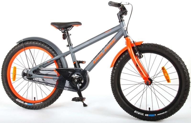 VOLARE - Detský bicykel pre chlapcov Rocky - sivý 20