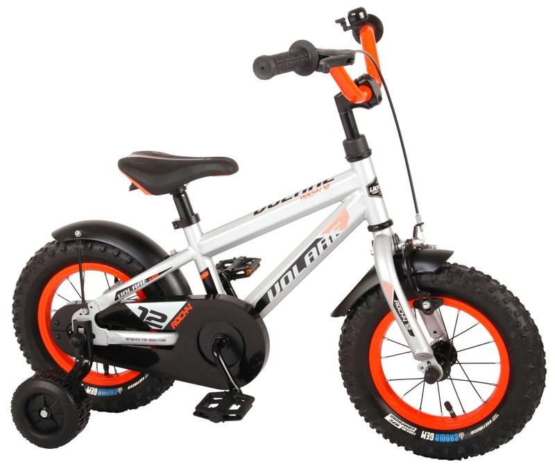 VOLARE - Detský bicykel pre chlapcov Rocky - strieborný 12