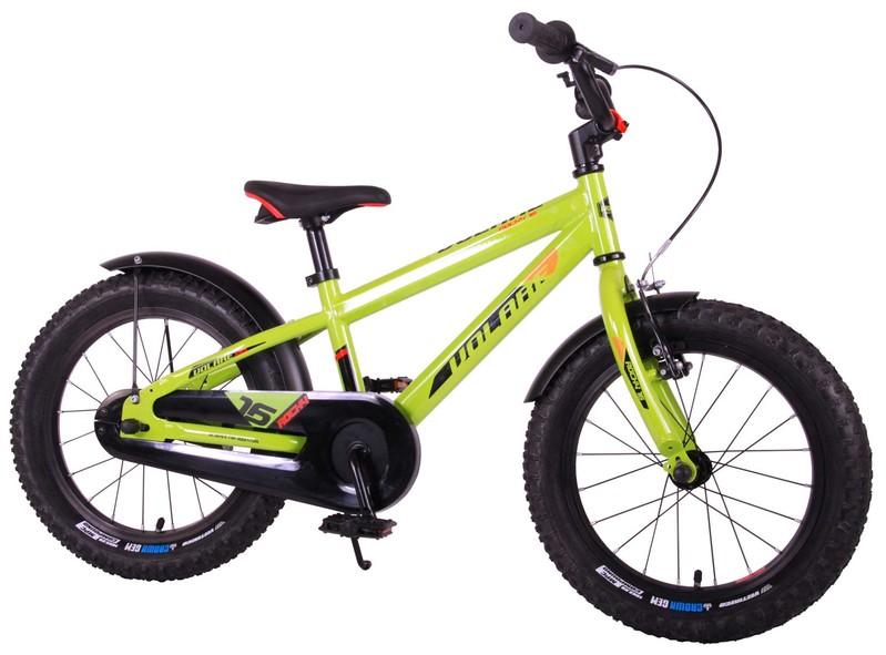 VOLARE - Detský bicykel pre chlapcov Rocky - zelený 16