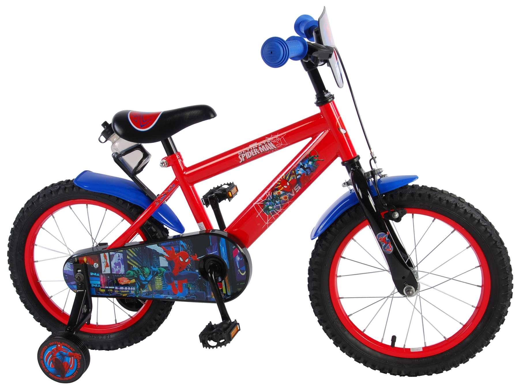 Volare - Detský bicykel pre chlapcov , Ultimate Spider-Man, 16