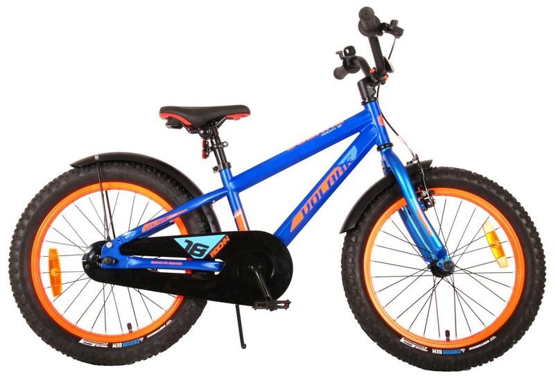 """VOLARE - Detský bicykel Rocky 18"""" Prime Collection - Blue"""