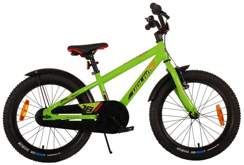 """VOLARE - Detský bicykel Rocky 18"""" Prime Collection - Green"""