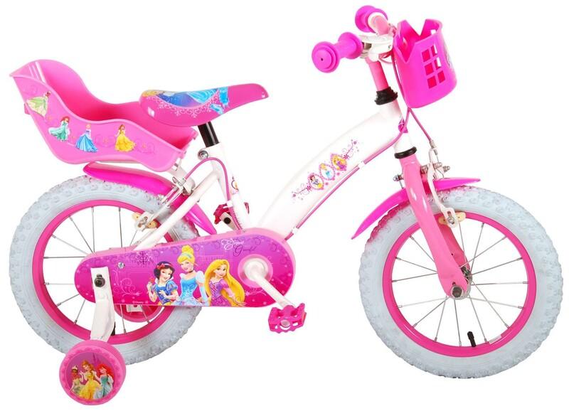 """VOLARE - Disney Princess detský bicykle pre dievčatá 14"""" Pink"""