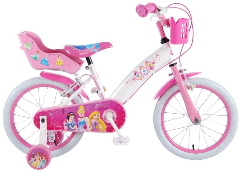 """VOLARE - Disney Princess detský bicykle pre dievčatá 16"""" Pink"""