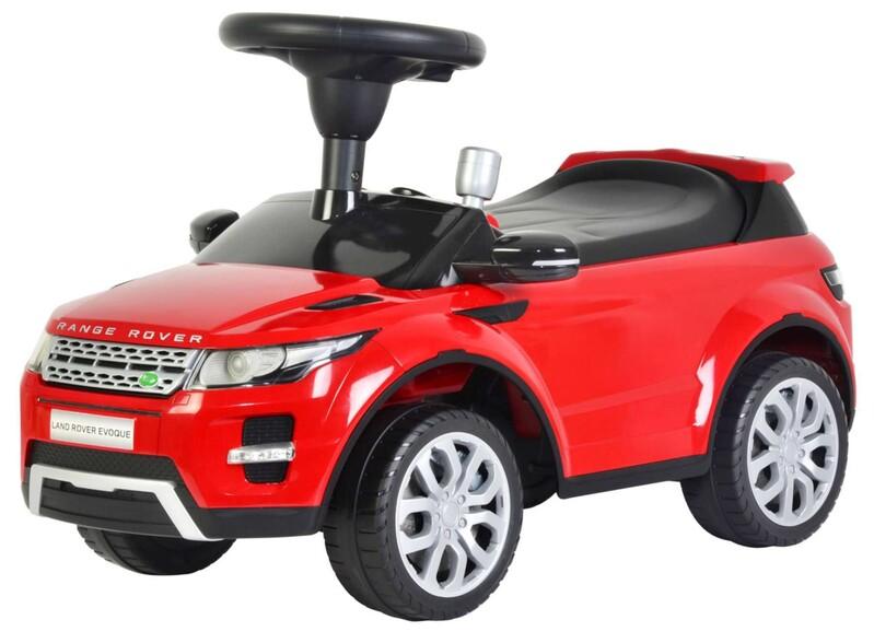 VOLARE - Odrážadlo Range Rover Evoque - červené