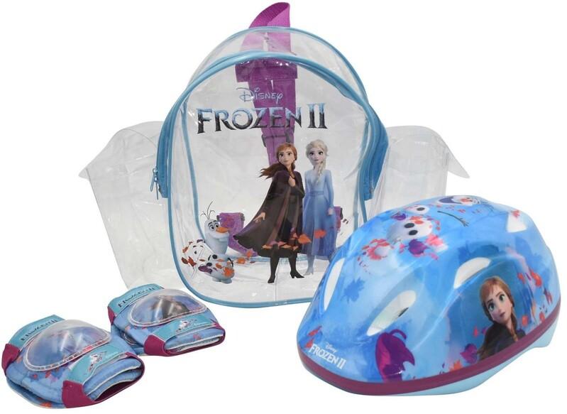 VOLARE - Sada chráničov a prilba Disney Frozen 2 51-55 cm