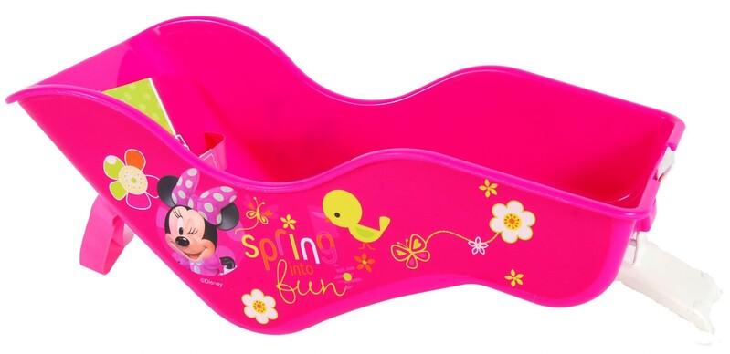 VOLARE - Volare Sedačka pre bábiky na bicykel Disney Minnie Bow-Tique