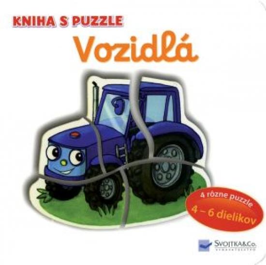 Vozidlá puzzle - Vera Bruggemann