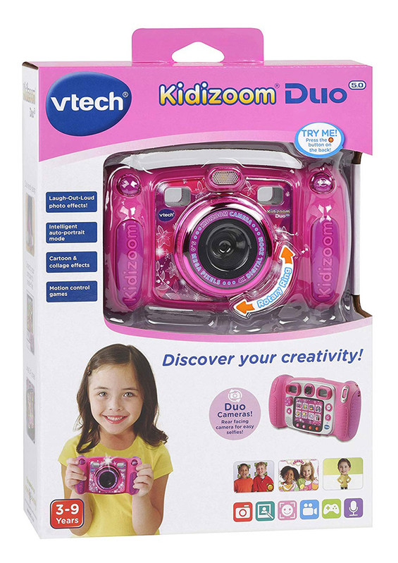 VTECH - Kidizoom Duo 5.0 Růžový