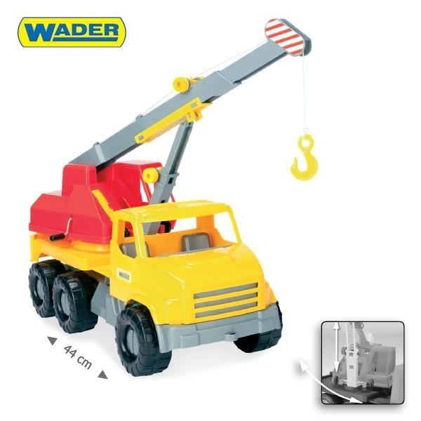 WADER - auto City Truck 5 druhov 32600