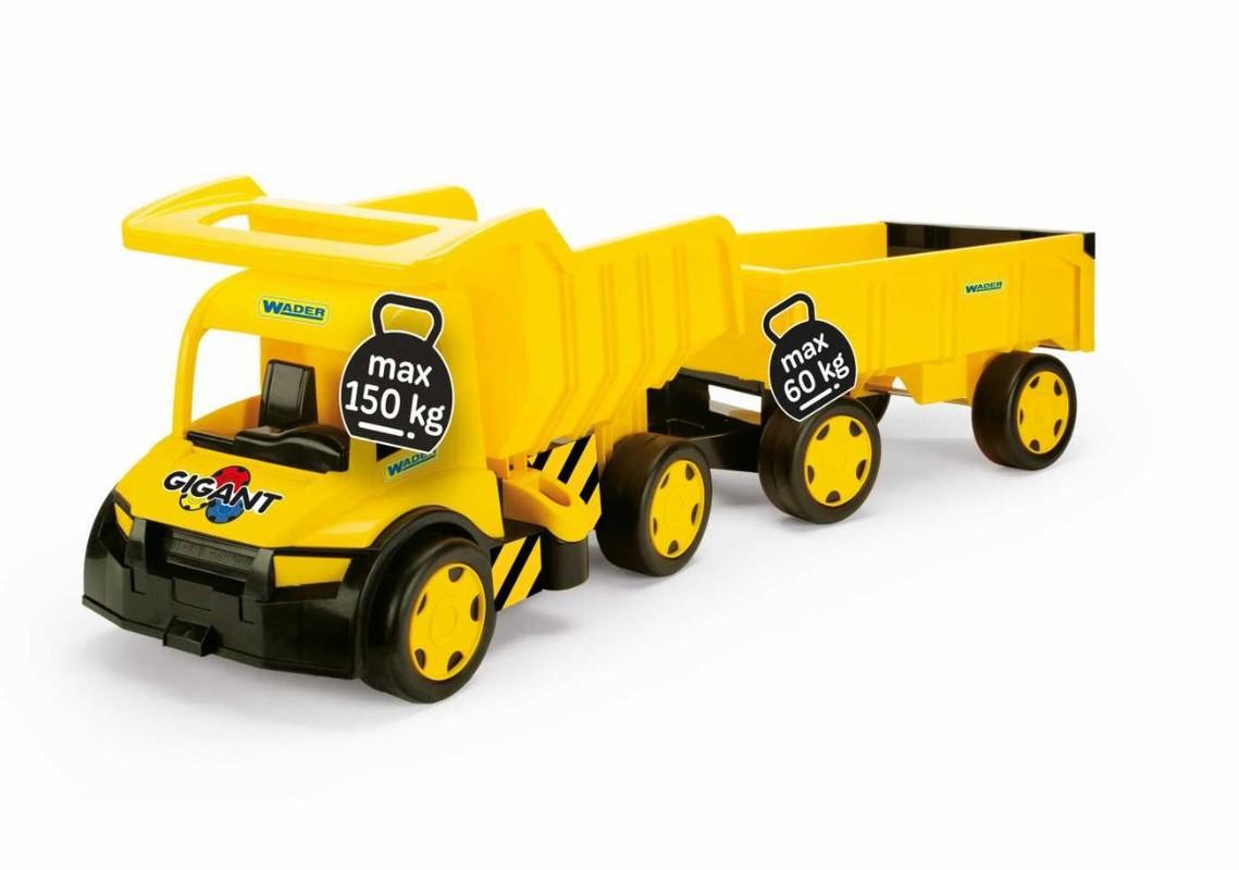 WADER - Auto nákladné s prívesom Gigant