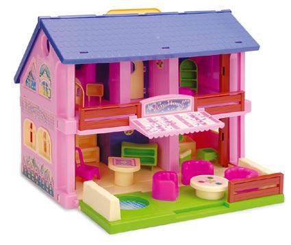 WADER - domček pre bábiky
