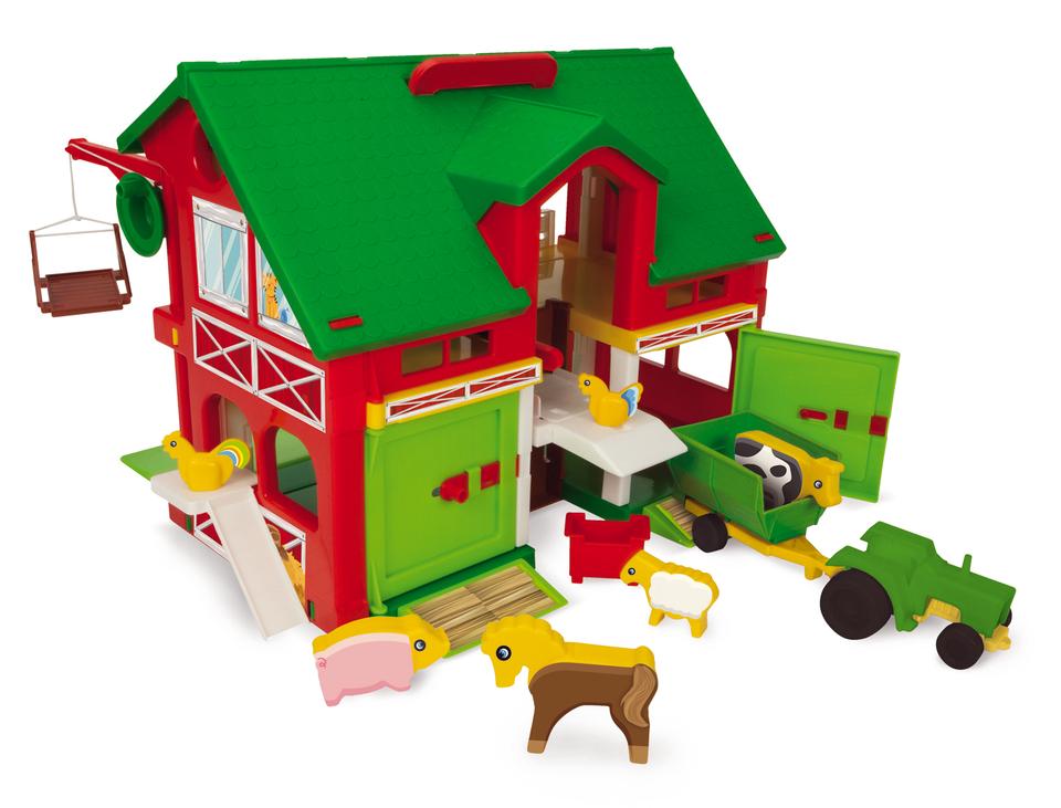 WADER - Farma so stodolou a zvieratkami