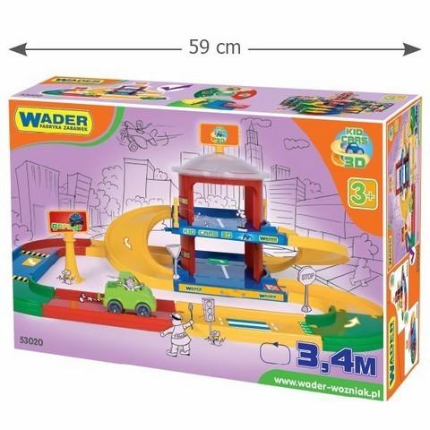 WADER - Garáž Kid cars 2-poschodová 53020