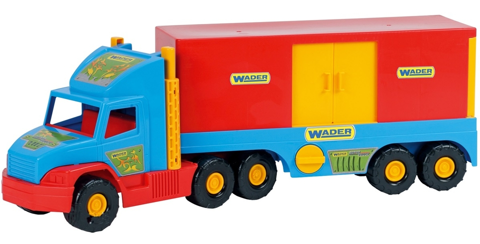 WADER - Kamion s kontajnerom 78cm