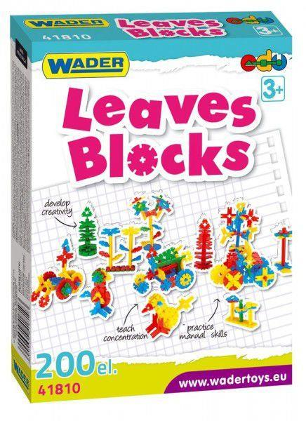 WADER - Kocky Leaves Bloks 200 ks