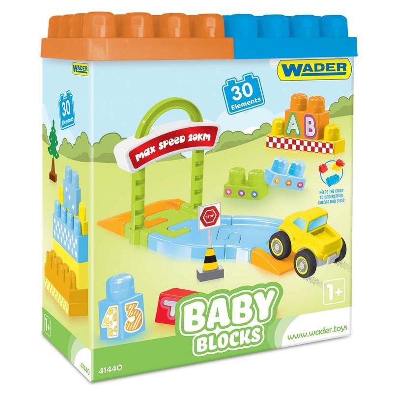 WADER - Stavebnica Baby Blocks 30D 41440