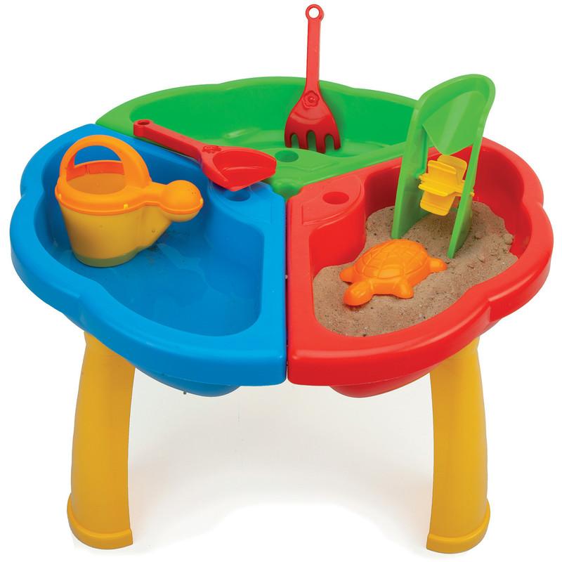 WADER - Stôl s hračkami na piesok a vodu 72000
