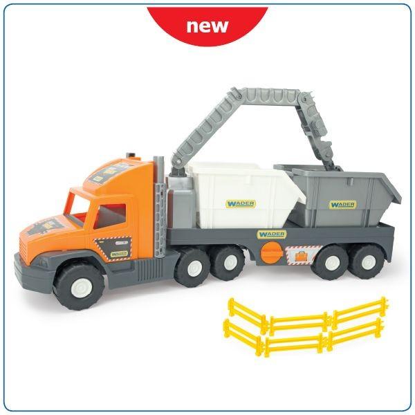 WADER - Super Tech Truck s kontajnermi 36760