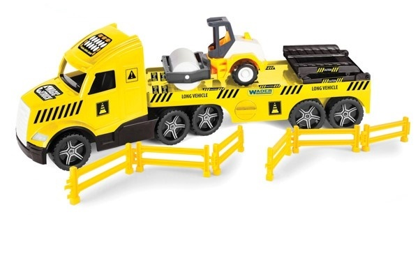 WADER - Ťahač Magic Truck Technic s valčekom