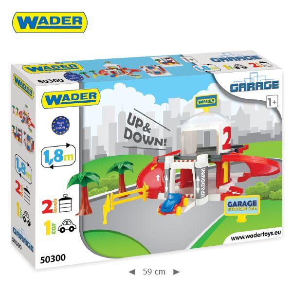 WADER - Wader 2 poschodová garáž s výťahom 50300