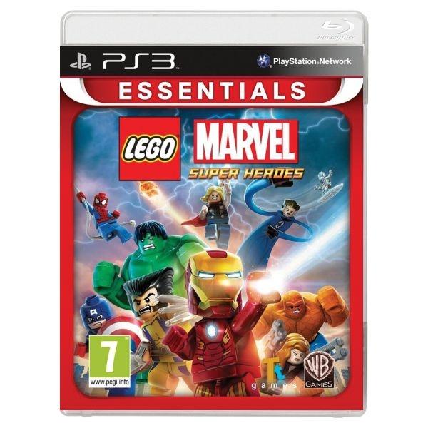 WARNER BROS - PS3 LEGO Marvel Super Heroes Essentials