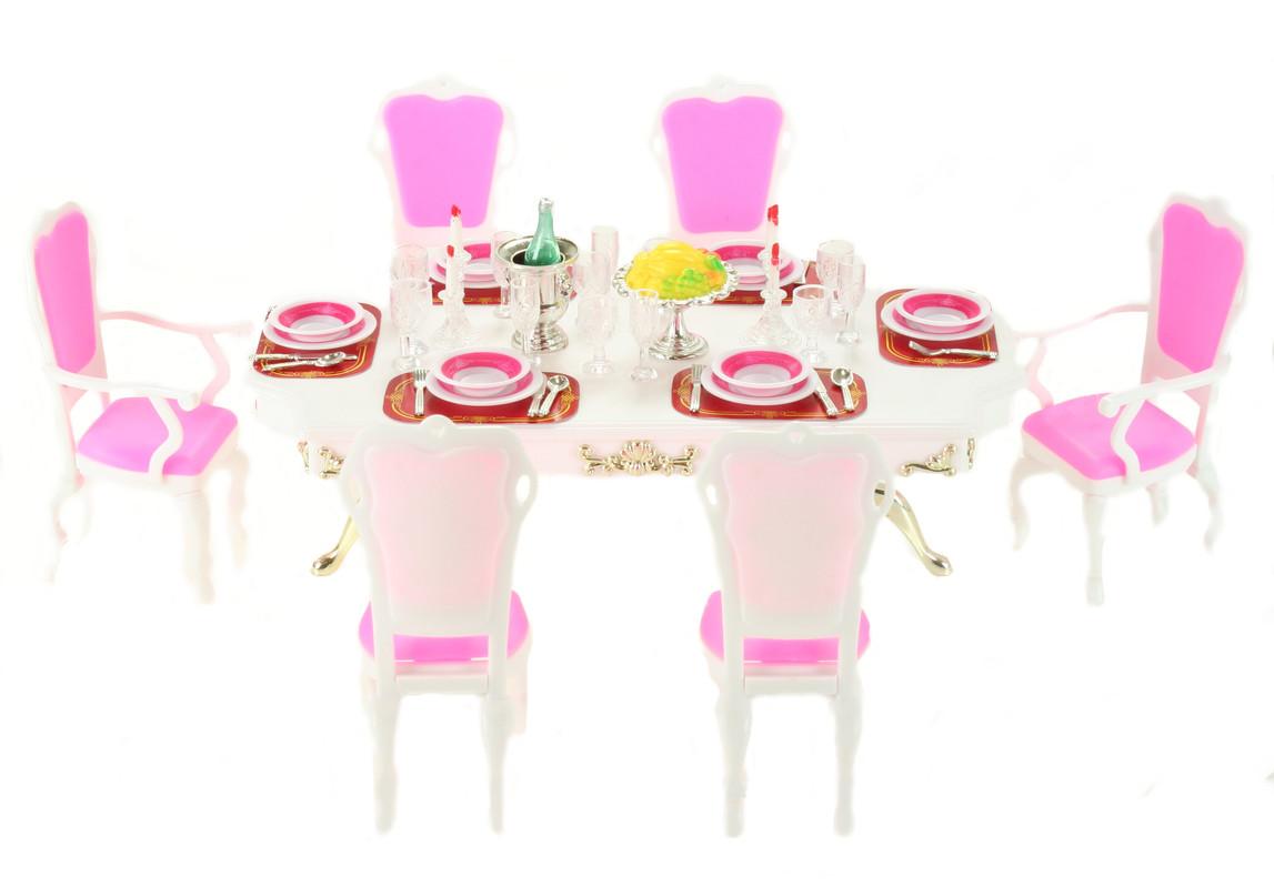 WELL TOYS - Detský stôl jedálenský set
