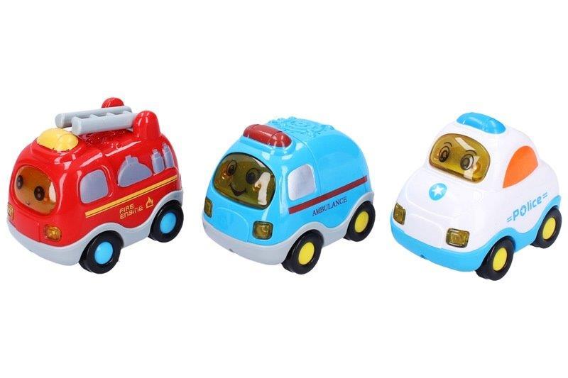 WIKY - Autá set 3 ks, 8 cm