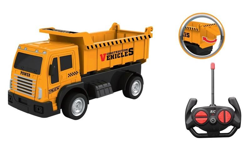 WIKY - Auto stavebné sklápacie RC 20cm