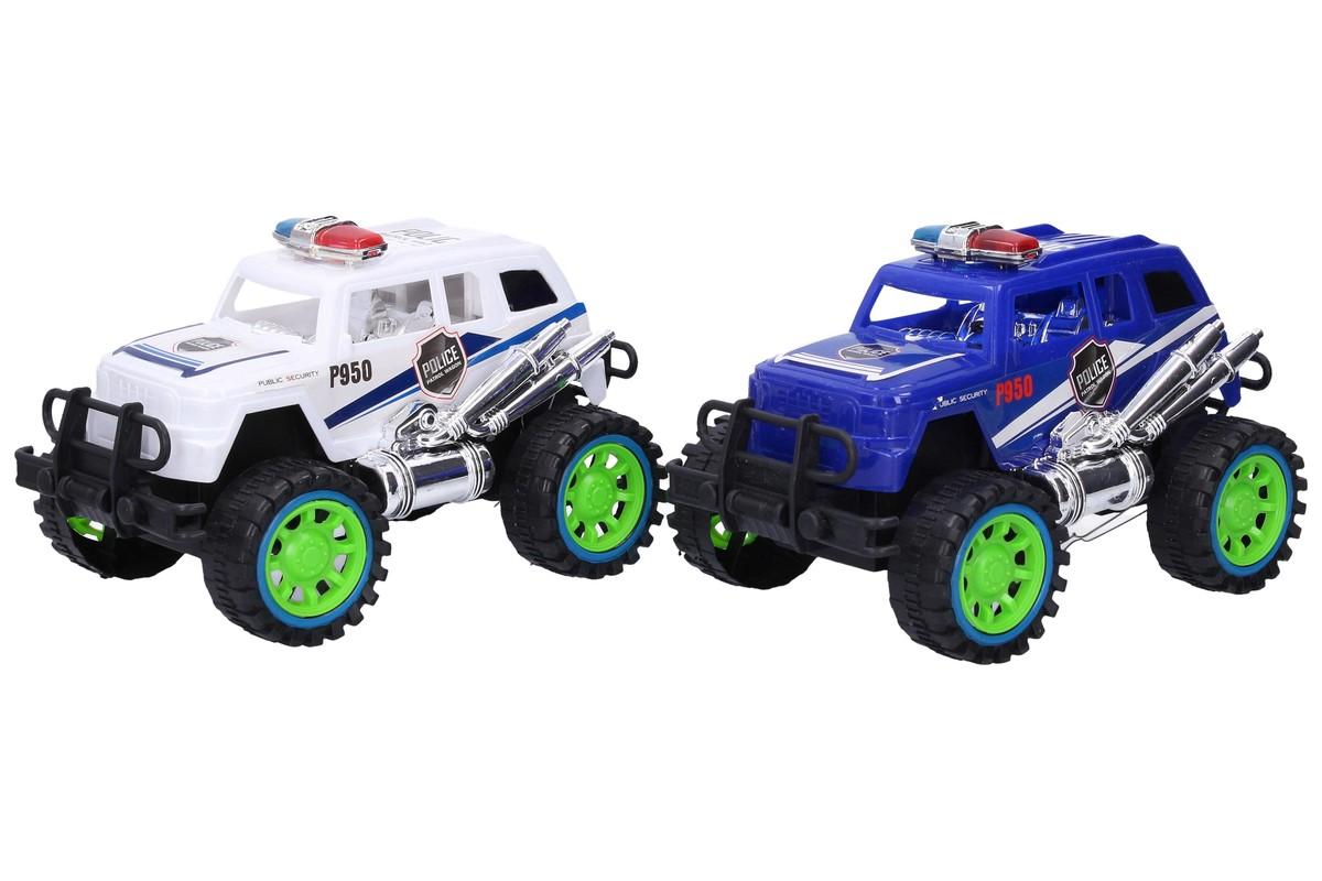 WIKY - Auto terénne polícia 23cm - modrá