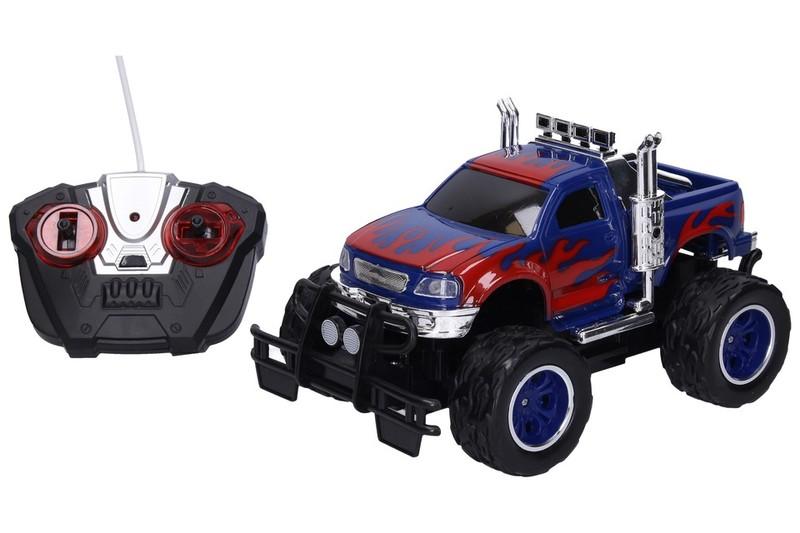 WIKY - Auto terénne RC 23 cm - modrá