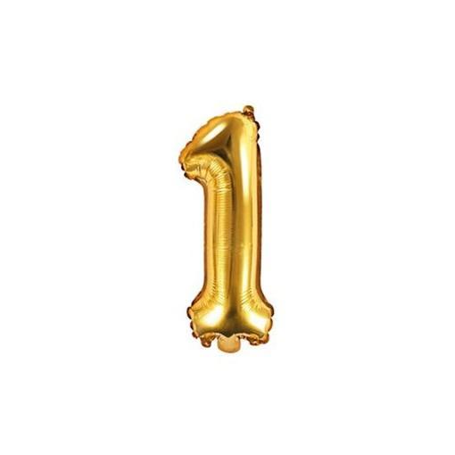 WIKY - Balóniky nafukovacie v tvare čísla 1
