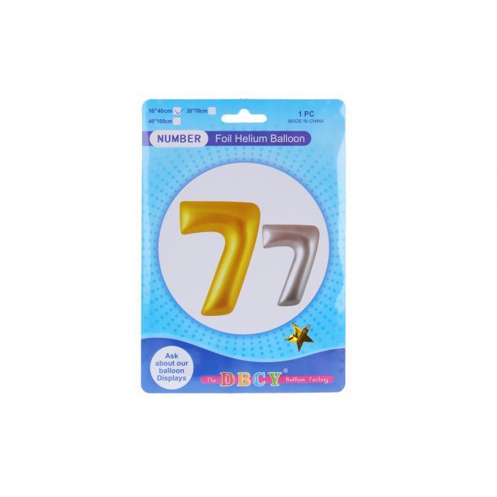 WIKY - Balóniky nafukovacie v tvare čísla 7