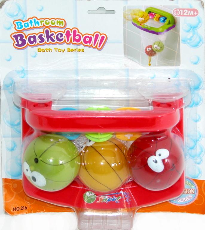 WIKY - Basketbal do vane pre najmenších