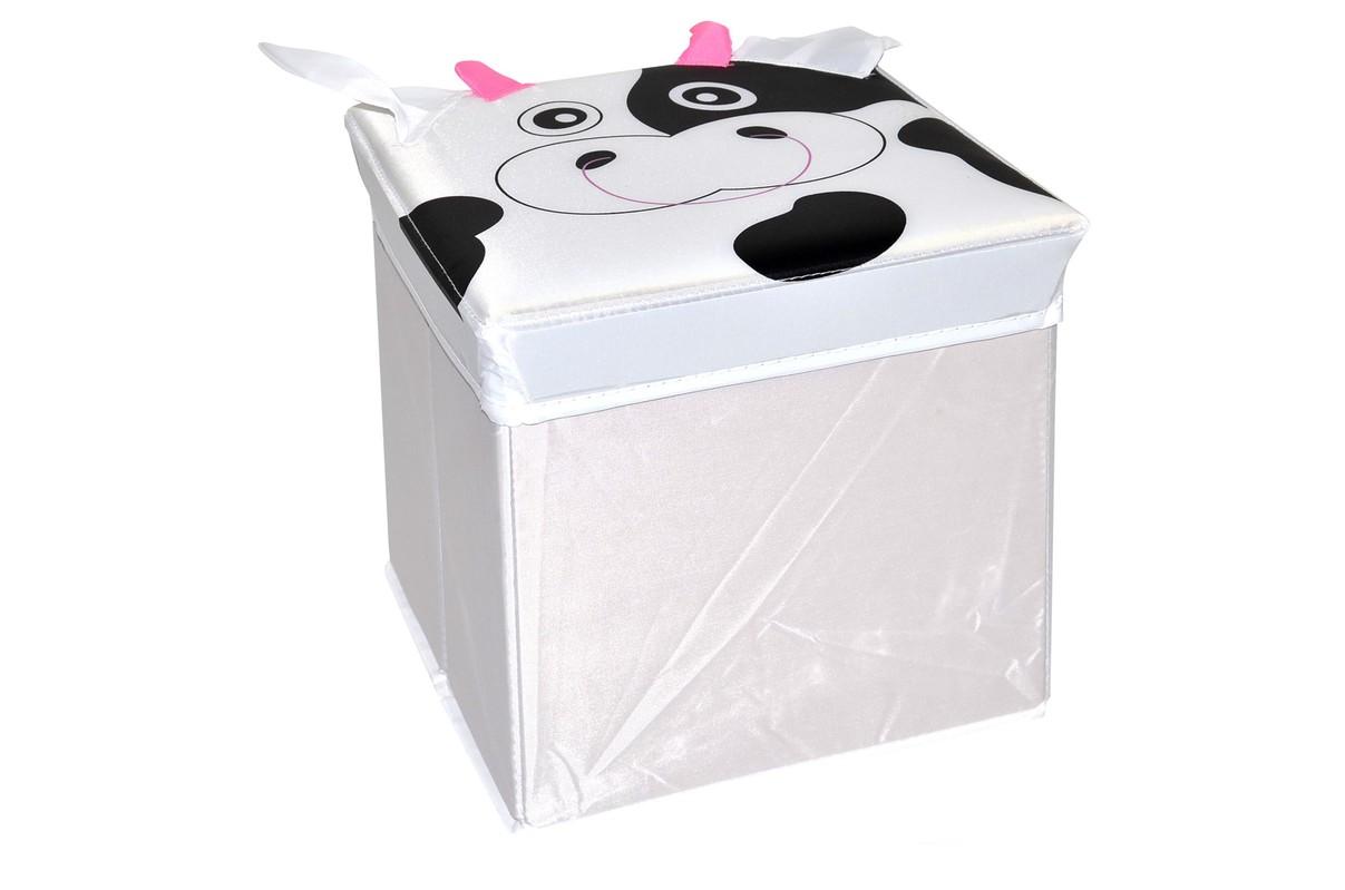 WIKY - Detský box skladací 25 cm - Kravička