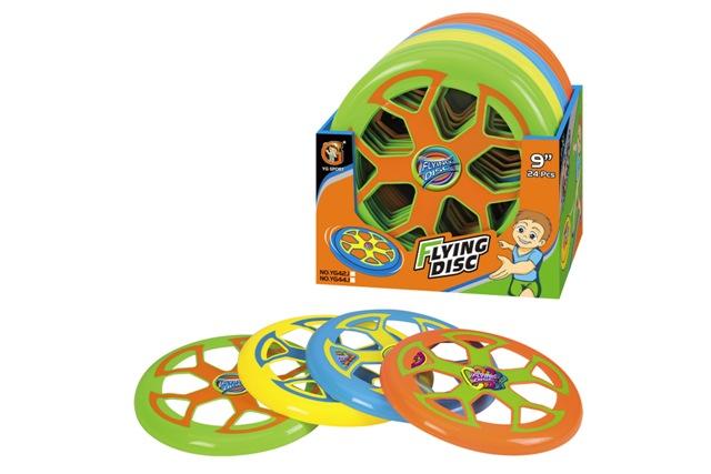 WIKY - Disk lietajúci 23 cm - 4 druhy