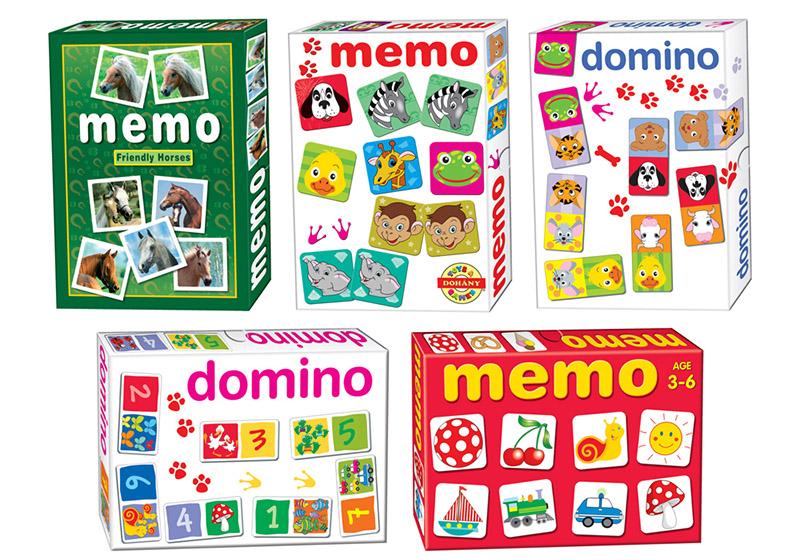 WIKY - Domino zvieratká a čísla
