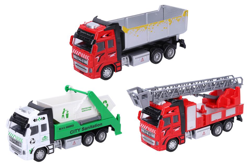 WIKY - Dopravné prostriedky 19cm - hasičské auto