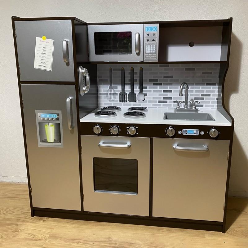 WIKY - Drevená kuchynka 107x40x109 cm