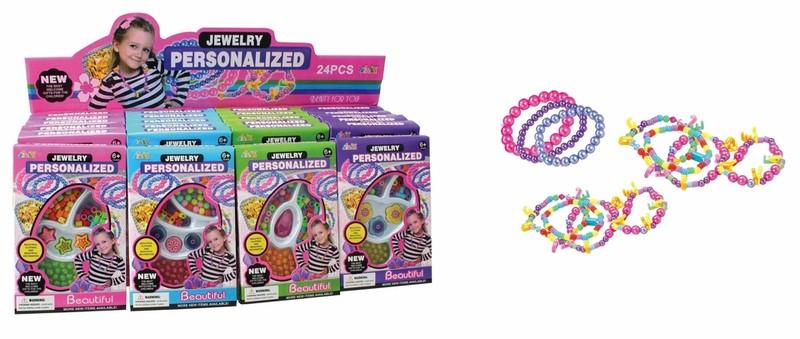 WIKY - Farebné plastové korálky sada
