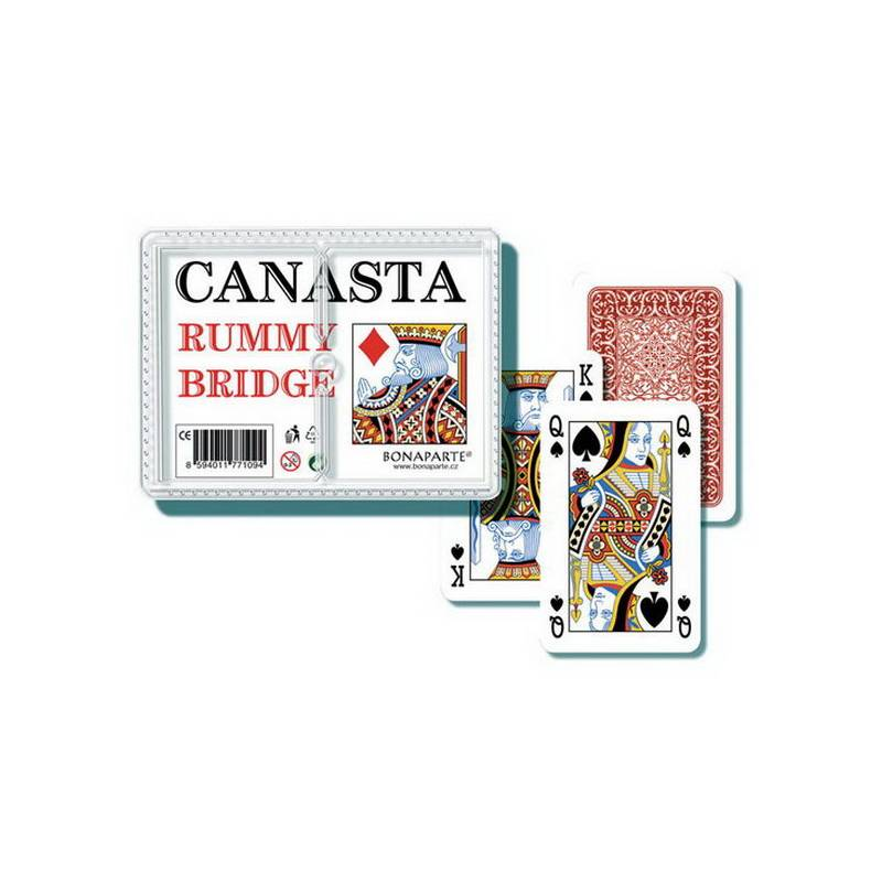 WIKY - Karty kanasta - plast