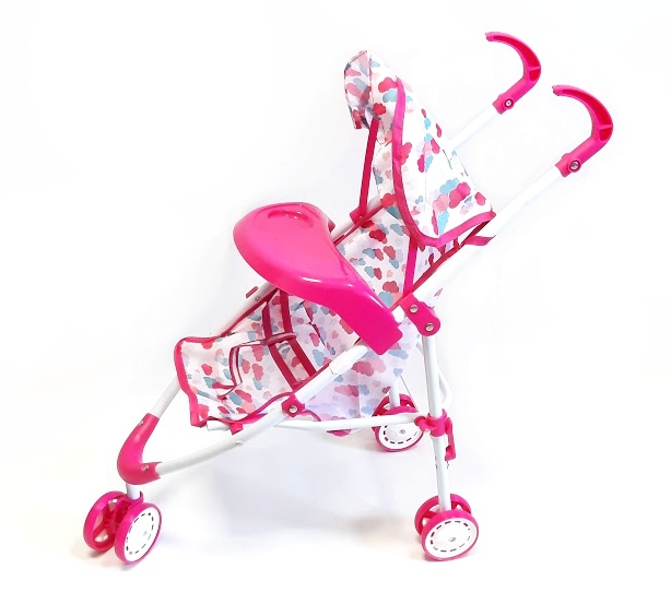 WIKY - Kočík pre bábiky 53cm