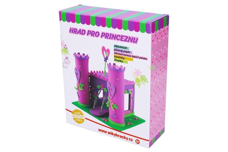 WIKY - Kreatívna sada Hrad pre princeznú