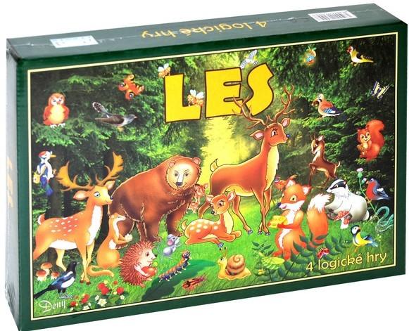 WIKY - Les - společenská hra