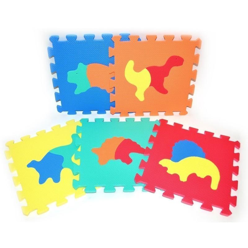 WIKY - Mäkké puzzle bloky Dino 30 cm