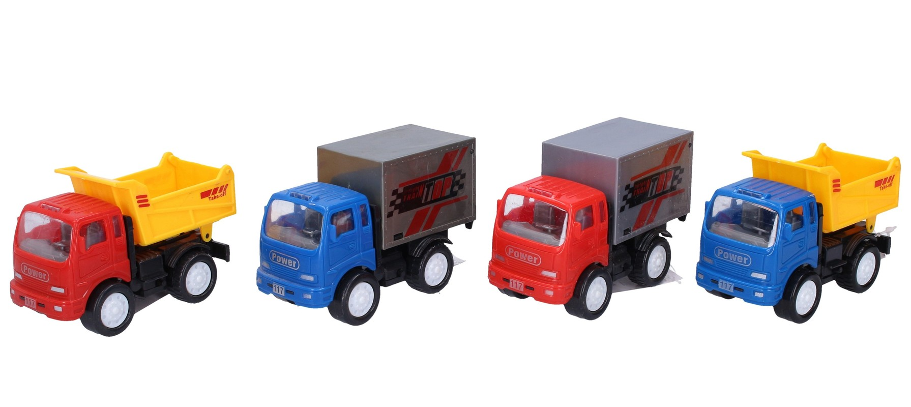 WIKY - Nákladné auto na spätné naťahovanie 11,5cm