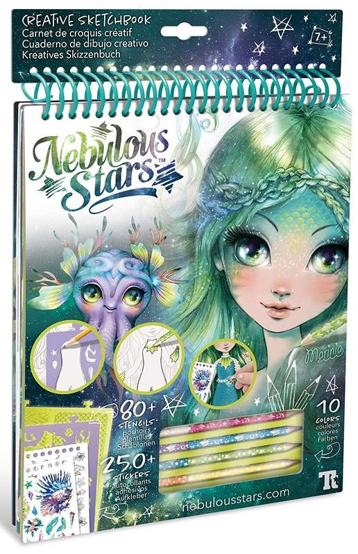WIKY - Nebulous Stars Kreatívny náčrtník Marinia